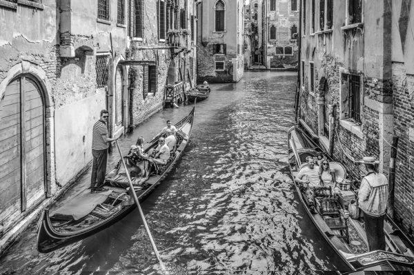 Gondolas Venecia ©Italo Arriaza www.photographer.cl